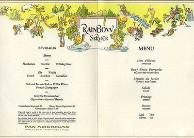 Pan-Am-Menu-Vintage
