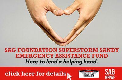 Hurrican Sandy Relief Sag Aftra