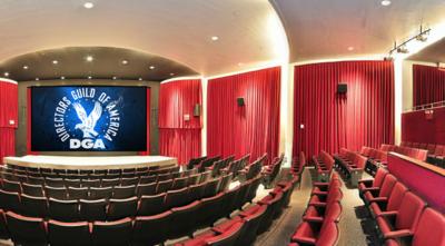 DGA theatre logo