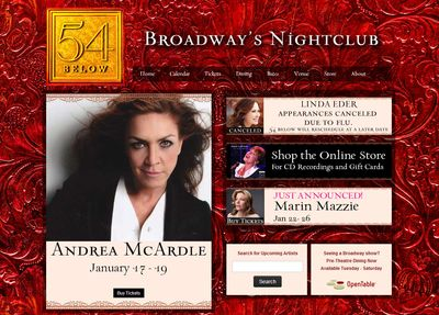54 Below New York
