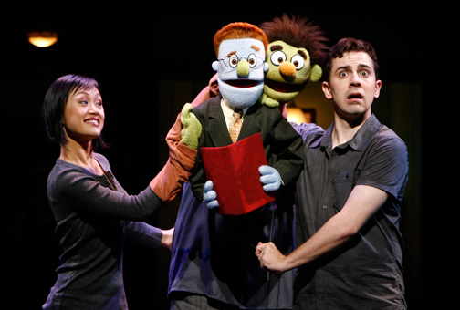 Avenue Q is heady stuff. (I'm not giving anything away here.